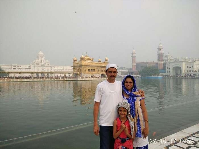 friends trip to amritsar temple