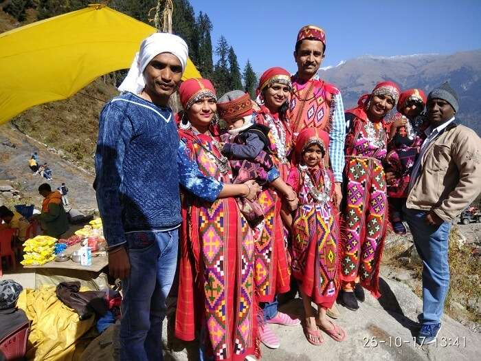 Traditional Himachali Outfits