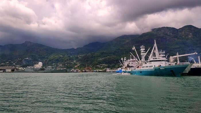 sandeep seychelles trip: boating
