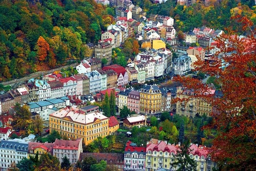 Karlovy Vary in Czech