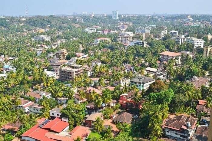 Aerial View Of Mangaluru