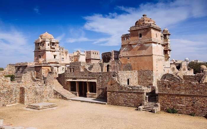 Rana Kumbha Palace located near Chittorgarh Fort