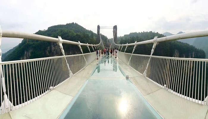 Zhangjiajie Glass Bridge in China
