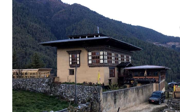 A homestay in Haa Valley in Bhutan