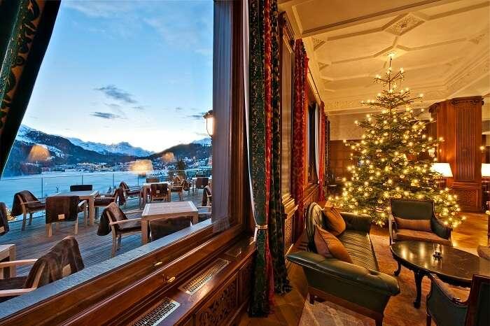 Carlton Hotel St. Moritz interior