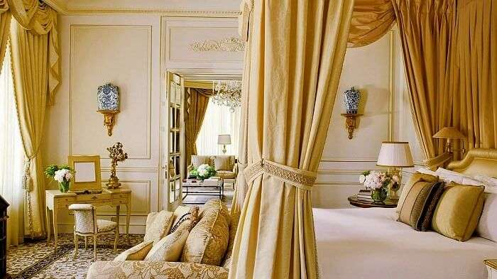 Four Seasons Hotel des Bergues Geneva interior