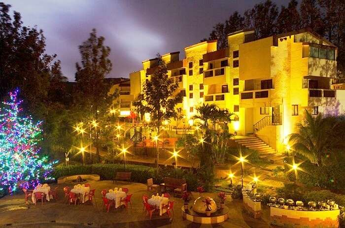 Exterior view of Hotel Millennium Park Panchgani