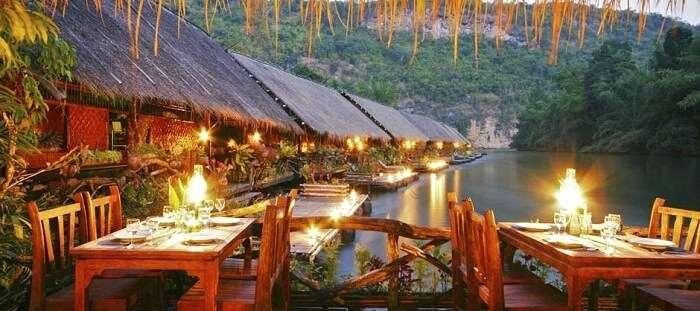 River Kwai Jungle Rafts Hotel