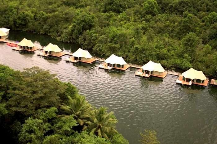 four Rivers Floating Lodge in Cambodia