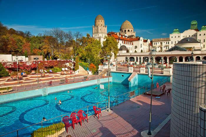 gellert pool in Budapest