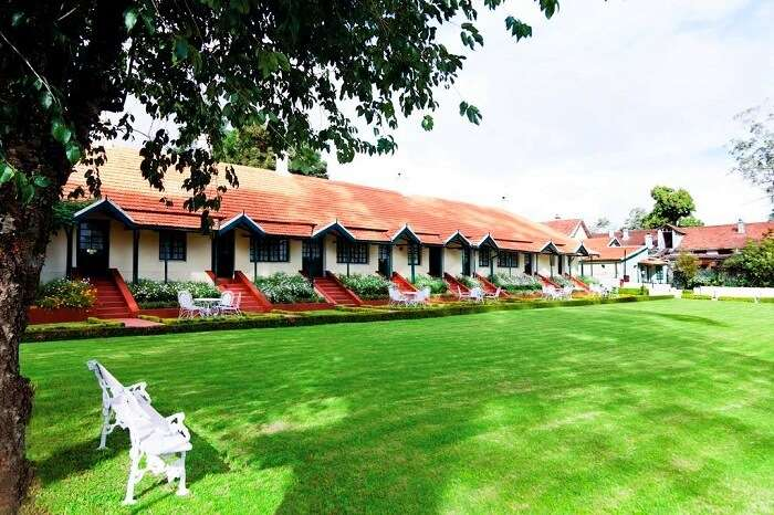 grounds of savoy hotel ooty