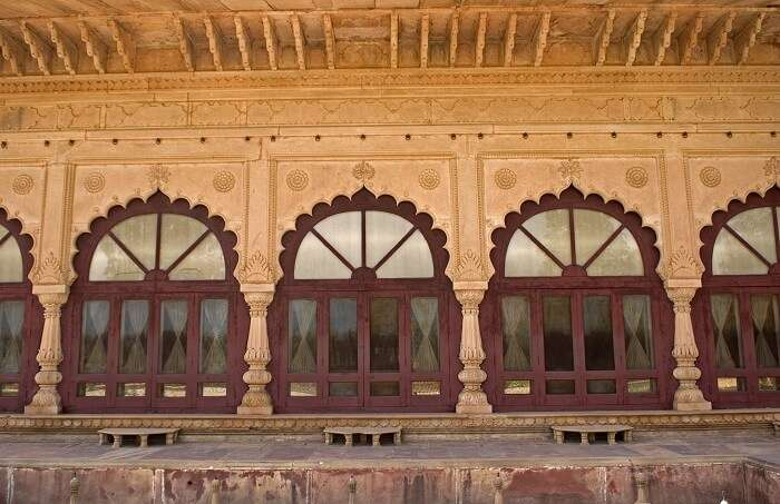 Mughal inspired architecture of Deeg Palace