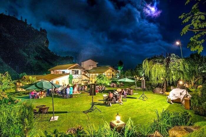 salong valley resort view
