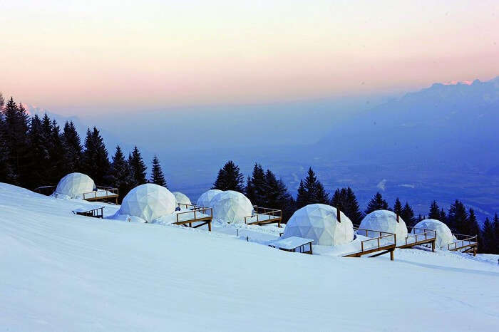 Hotel Whitepod in Switzerland