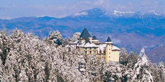 The wildflower hall in shimla