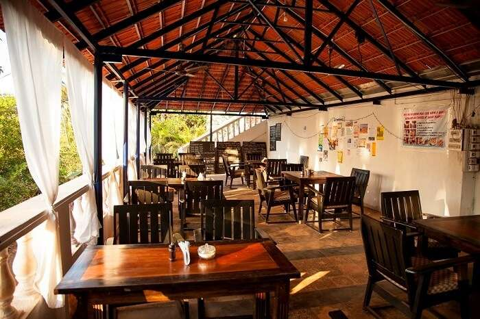Cafes in Canacona