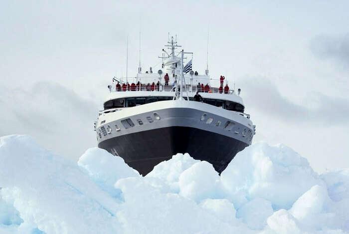 icebreaker luxury cruise ship