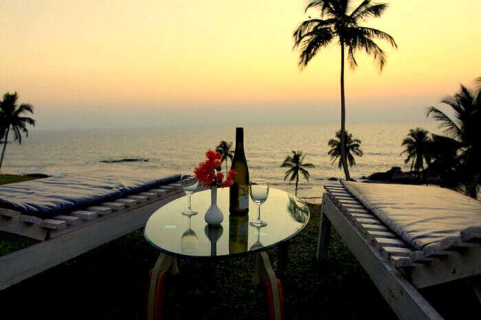 Thalassa in Goa romantic restaurant