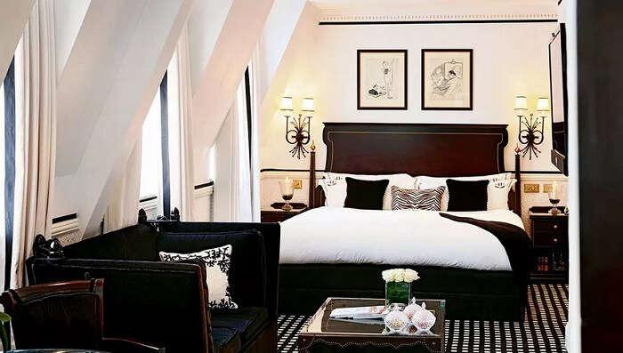41 hotel room london