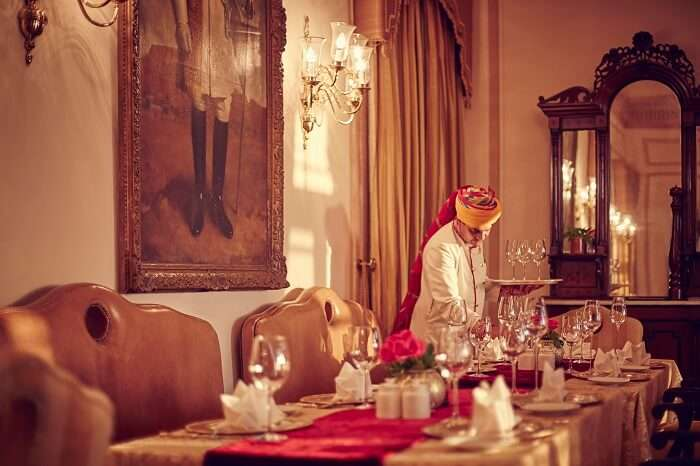 Umaid Bhawan Palace service