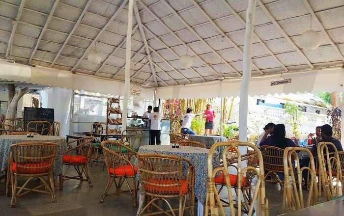 Best cafes in Anjuna
