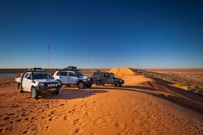 Dune Bashing At The Fiery Simpson Desert