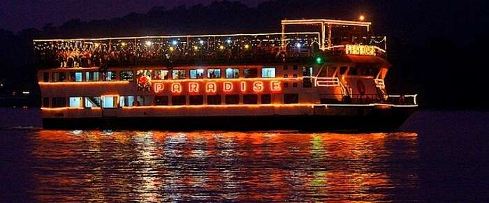 party cruises in goa