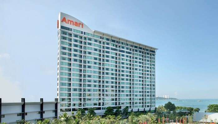 Side View of Amari Ocean Pattaya