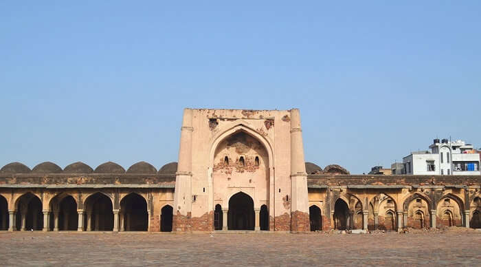 Begumpur Mosque in delhi
