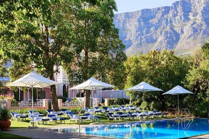 stay at cape town's Belmond Mount Nelson Hotel