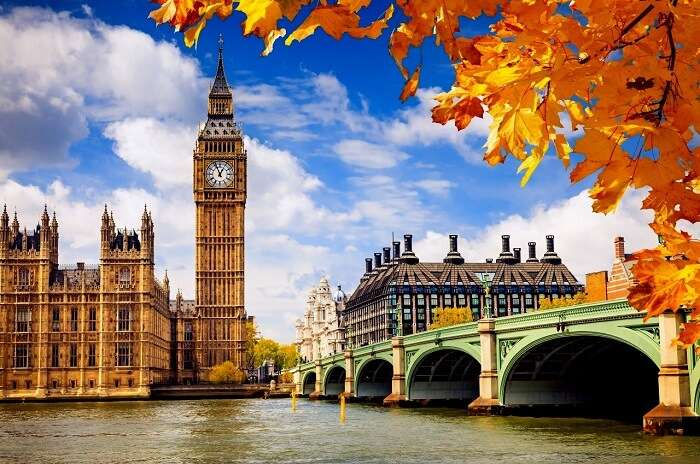 best season to visit london