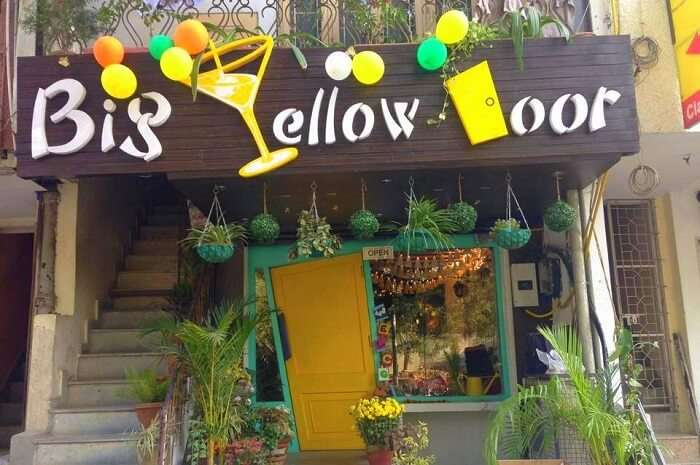 dine at the affordable Big Yellow Door