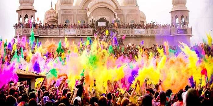 Celebrations at Mumbai Holi Festival Tour
