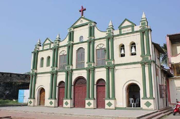 Exterior of Church Of Lady of Sea Daman