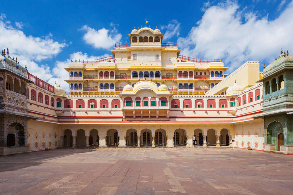 the gorgeous city palace in jaipur