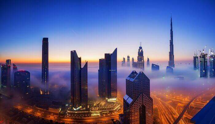 Dubai In Winters