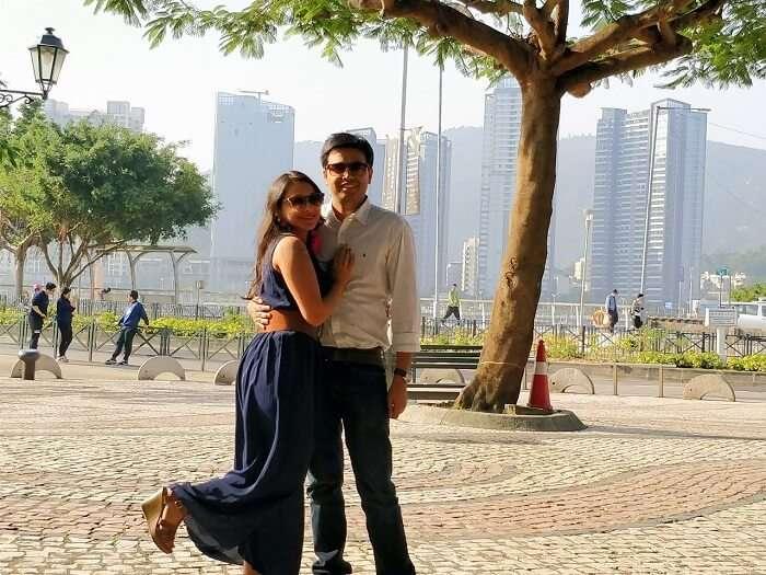isha aggarwal hong kong family trip: macau city tour