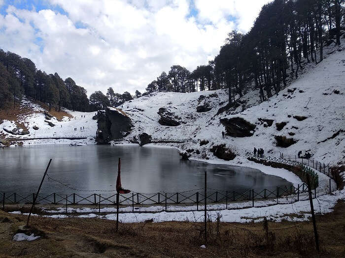 snow around serolsar lake