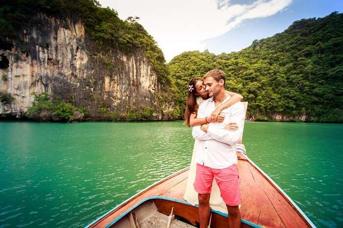 Couple in Krabi, Thailand