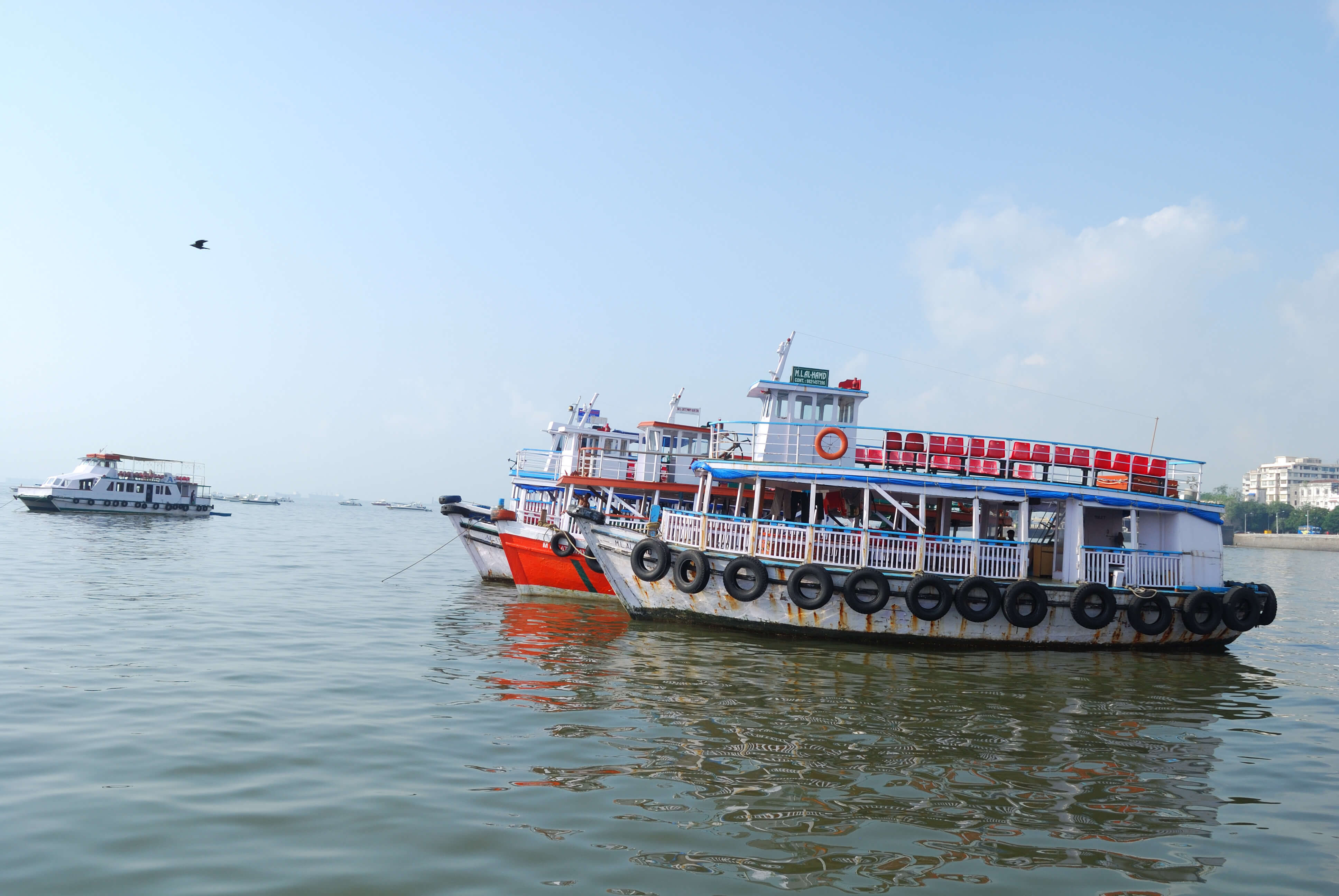 A Ferry in Mumbai