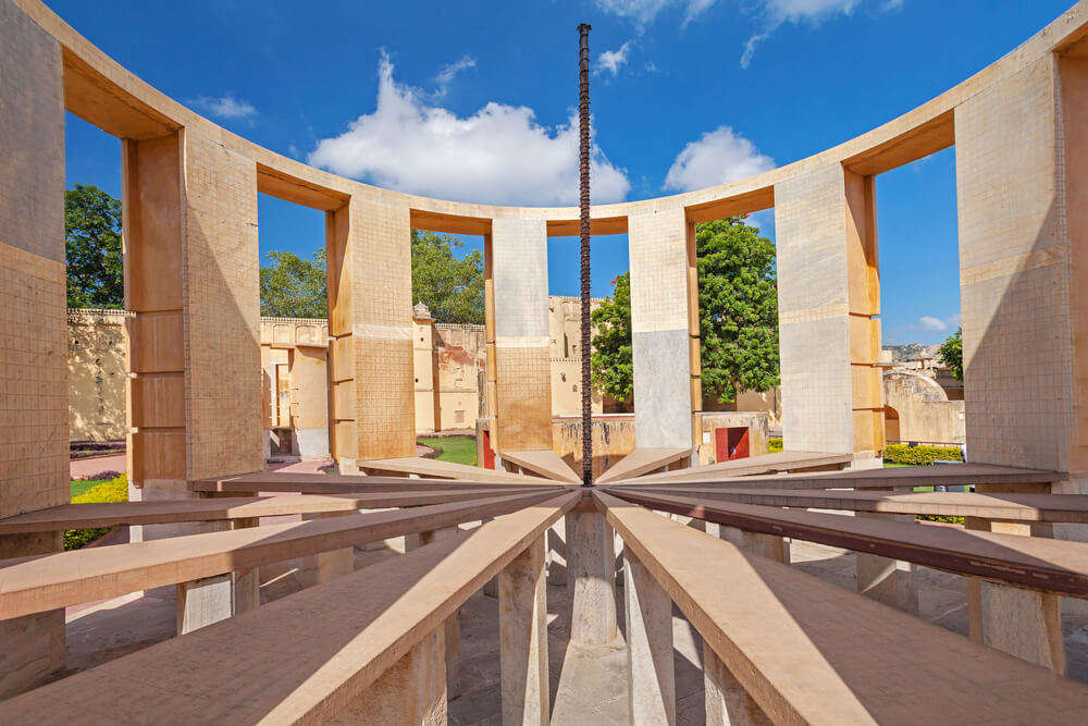 a beam structure in jantar mantar
