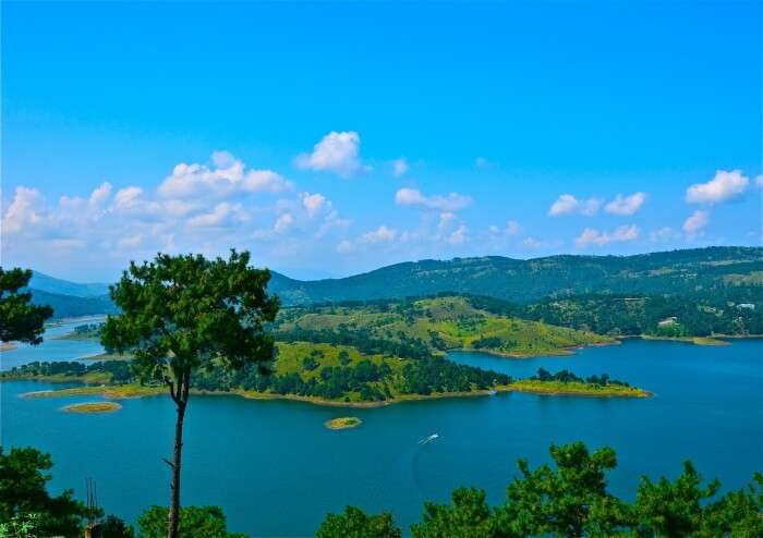 Lake in Shillong