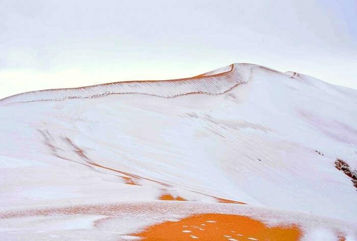 snowfall in algeria