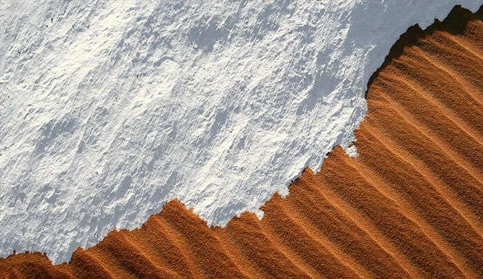 snow in algeria
