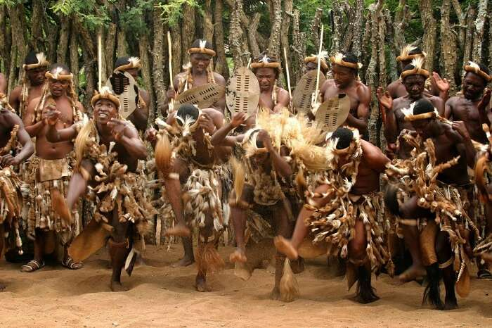 Tribal Dance In South Africa