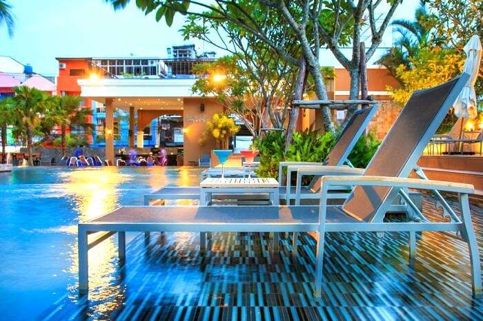 Pool SIde at citrus parc pattaya