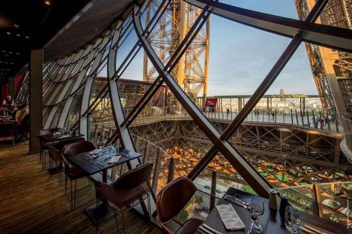 dinner in Eiffel Tower