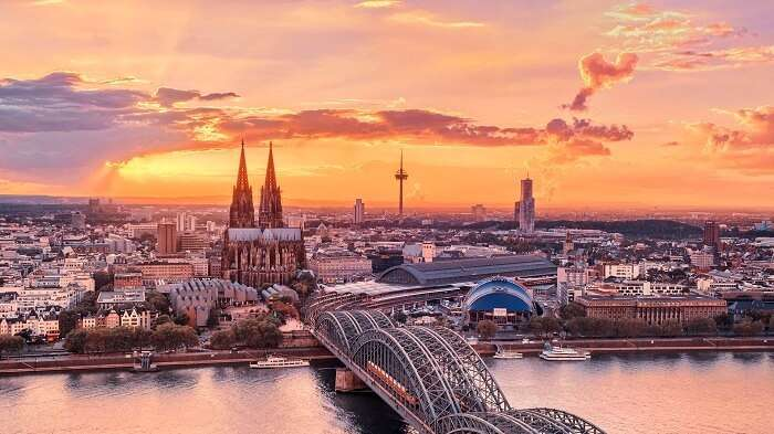 Beautiful city in Germany
