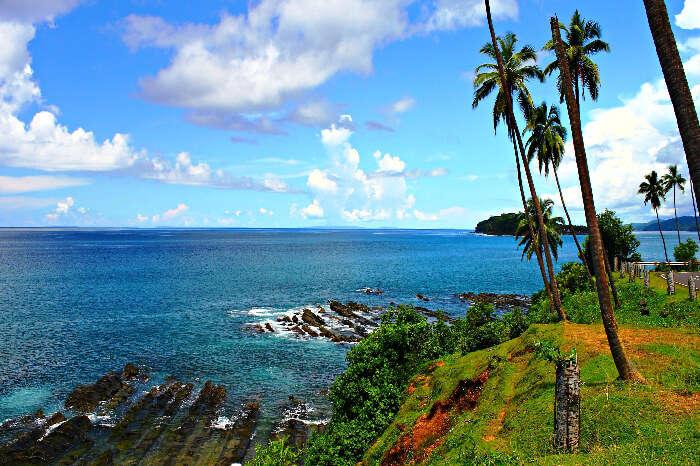 the gorgeous sea in Port Blair