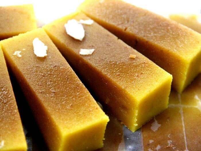 mysore pak sweet